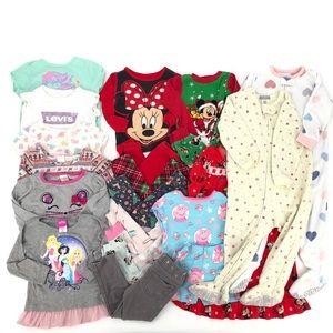Baby Girl 18 - 2T Sleep & Play Outfits - 24 Items!